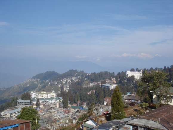 view from Andy's Guest House, Darjeeling