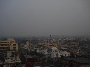 "Kolkata's skyline from ""Blue & Beyond"""