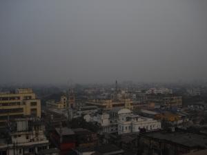 """Kolkata's skyline from """"Blue & Beyond"""""""