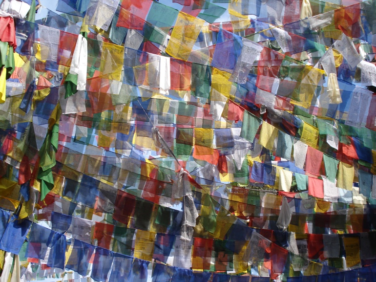 Observatory Hill, Darjeeling - many, many Prayer Flags