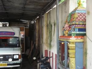 ambulance and shrine, both essential